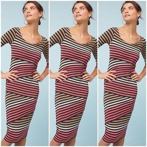 Bailey 44 Striped Column Dress